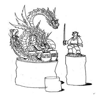 オロチ退治のイメージ図